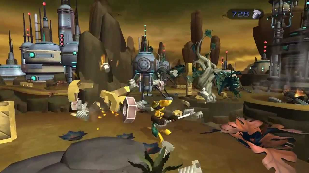 U Ratchet Video Ratchet & Clank Tr...