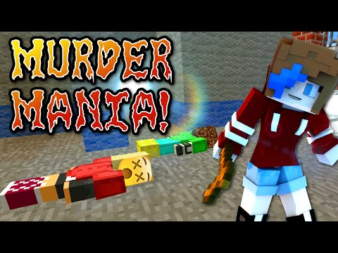 MINECRAFT MURDER MANIA | PARTY ZONE SERVER | RADIOJH GAMES & GAMER CHAD