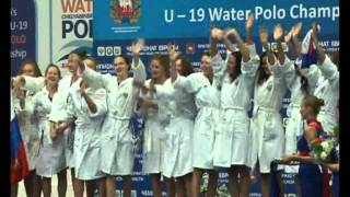 Золото чемпионата Европу у российских ватерполисток