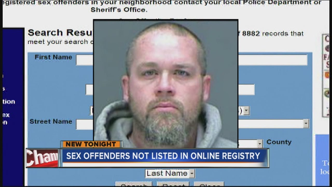 Should sex offenders names be online