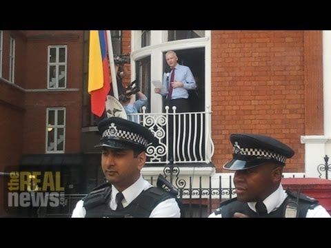 Assange Remains Trapped In Ecuador Embassy Two Years Later