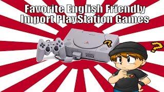 Favorite English Friendly Import PlayStation Games - KidShoryuken