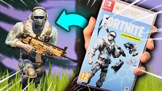 FORTNITE PHYSICAL FORMAT 😐 CRIOGENIZATION Lot for NINTENDO SWITCH 👉 UNBOXING DEEP FREEZE