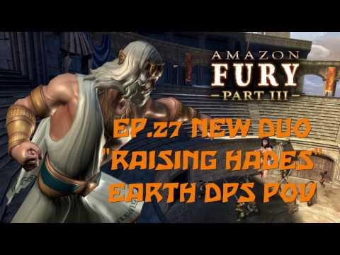 """DCUO Ep.27 Amazon Fury part 3 New Duo """"RAISING HADES"""" Tier 8 [Earth dps pov] 1080p"""