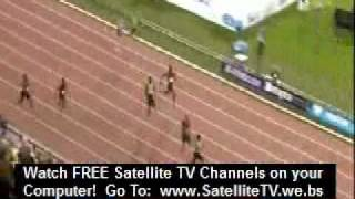YOHAN BLAKE 19:26 2nd fastest 200m of all time Men Brussels Diamond League 2011