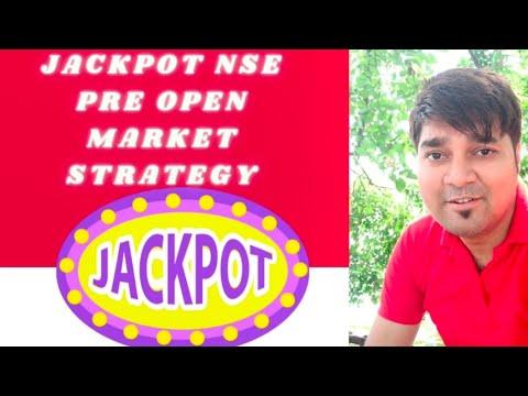 JACKPOT BEST NSE PREOPEN  MARKET STRATEGY-IV