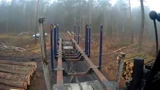 Leśny włóczykij  Awaria kłonicy #Vlog5 Dzień z nakładką Cz.1 Transport Leśny