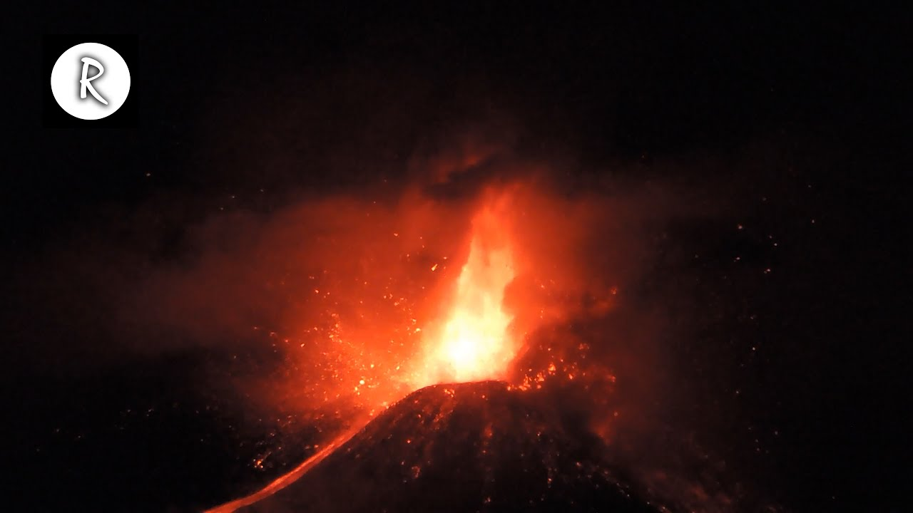 Download 🌋 Rain, Lava & Volcano Sounds - Amazing Nature Sounds