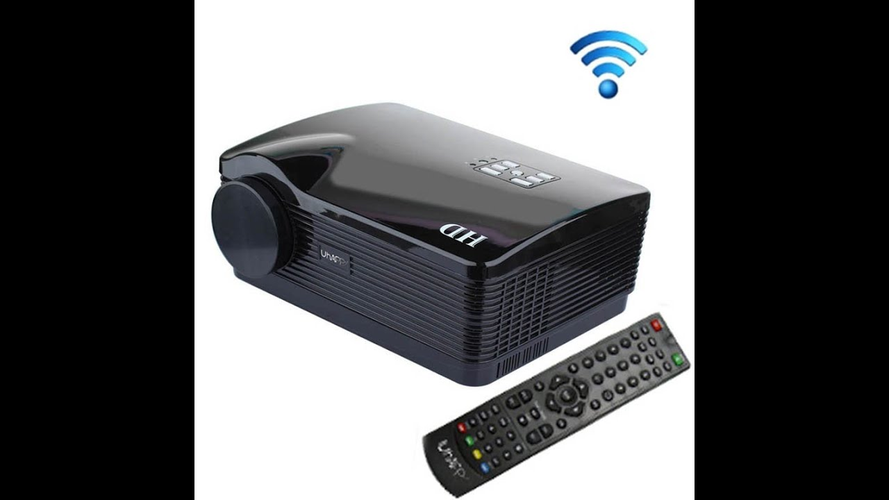 Uhappy u2 2600lm 1080p mini projector with remote control for Best mini projector 2015