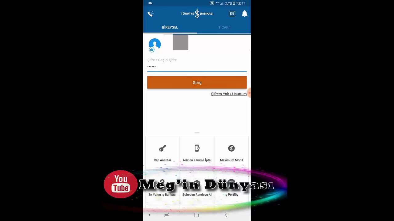 Is Bankasi Maximum Kredi Karti Internet Alisverisine Acma Kapam