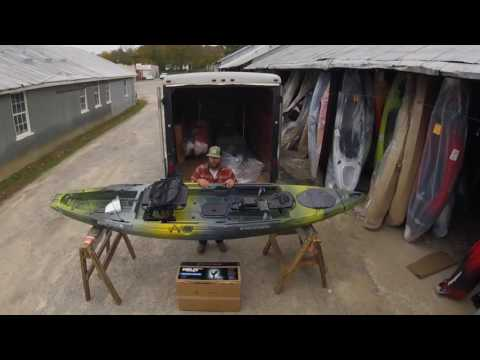 Behind The Scenes: Unwrapping the Wilderness Systems Radar 135 Fishing Kayaks