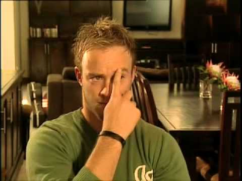 Pasella interview with AB de Villiers - bloopers