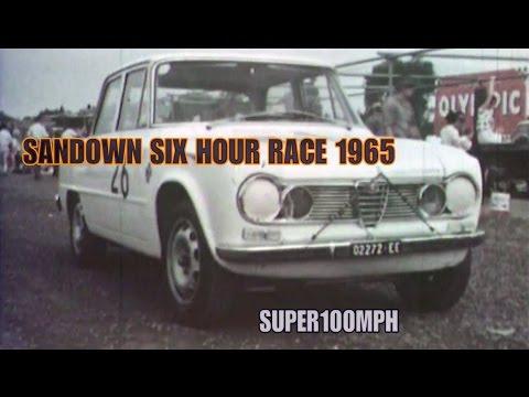 SANDOWN SIX HOUR RACE 1965