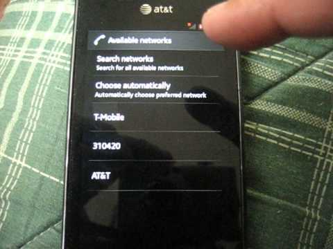 Network Operator Selection in Android