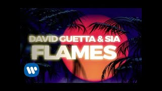 Baixar David Guetta & Sia - Flames (Lyric Video)