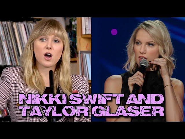 Taylor Swift Doing Stand Up Comedy - Nikki Glaser Singing - Deepfake