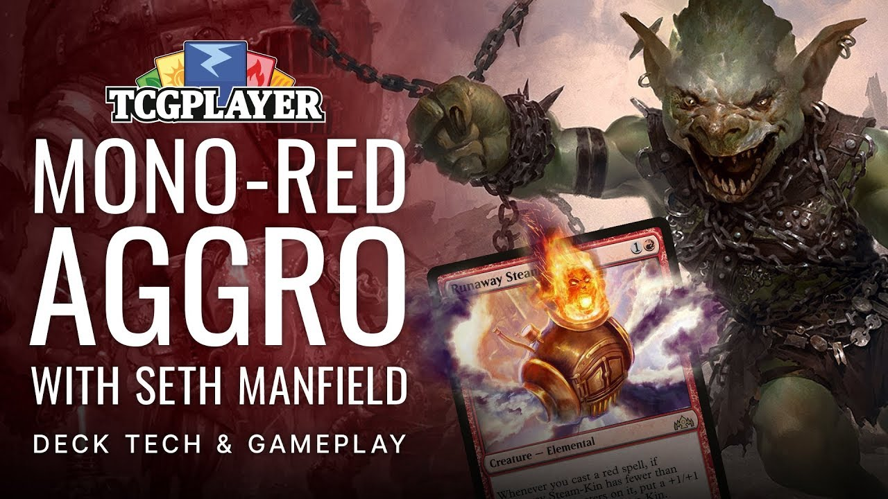 Mono-Red Aggro: Decktech and Gameplay by Seth Manfield