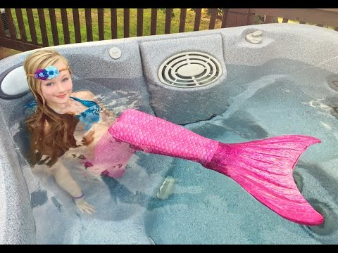 Download Youtube: The day Princess Ella become a real mermaid. She has to be rescued by Batman. W/ blind bags