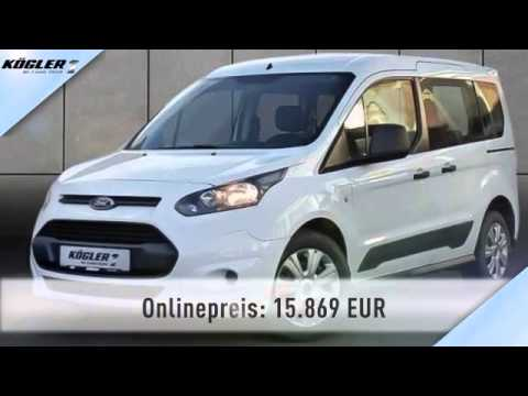 ford tourneo tourneo connect 1 0 ecoboost ambiente 20 youtube. Black Bedroom Furniture Sets. Home Design Ideas