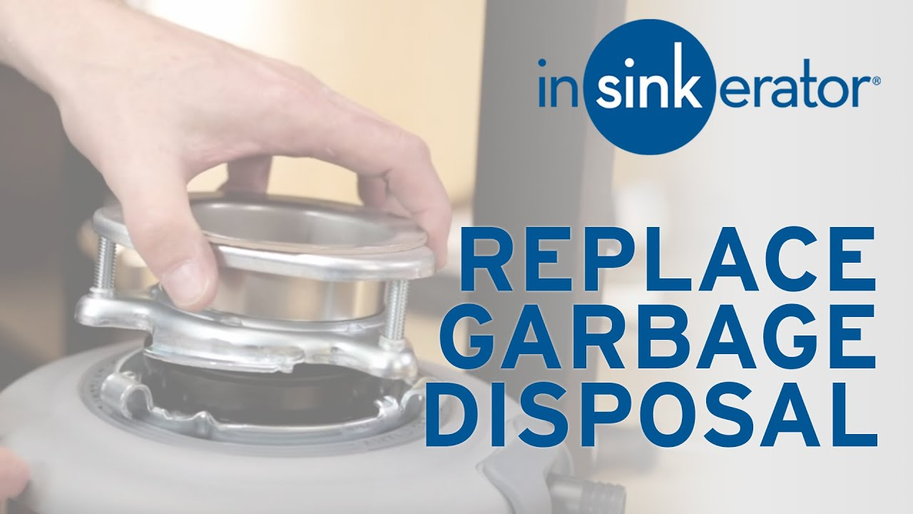 How To: Install Replacement Garbage Disposal - YouTube