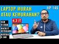 Gambar cover Laptop Paling Murah dengan 512GB SSD dan Backlit Keyboard: Review HP 14s-CF1051TU Celeron 4205U