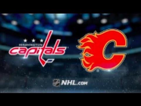 Washington Capitals vs Calgary Flames (4-3 OT) – Oct. 27, 2018 | Game Highlights | NHL 2018