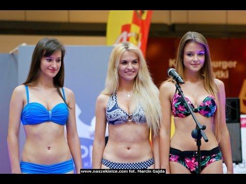 Wybory Miss Polka 2013 w Kielcach - Piękne dziewczyny w strojach kąpielowych