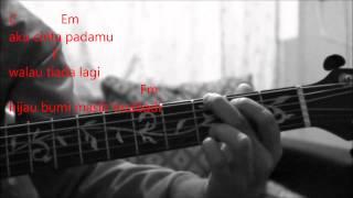 Azhael - Hujung Waktu Cover (Kord Gitar)
