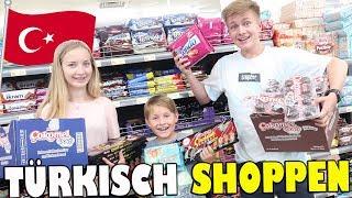 Was kaufen Ash, Max und Chrissi im Türkischen Supermarkt😏  Türkisch Shoppen 😁 TipTapTube 👨👩👦👦