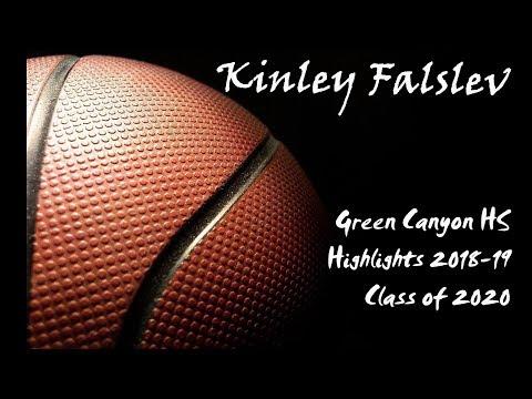 Kinley Falslev Green Canyon High School Highlights 2018-19