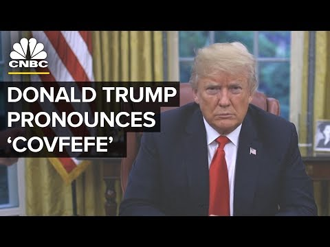 Trump Pours 'Covfefe' On Yanny Or Laurel Debate | CNBC