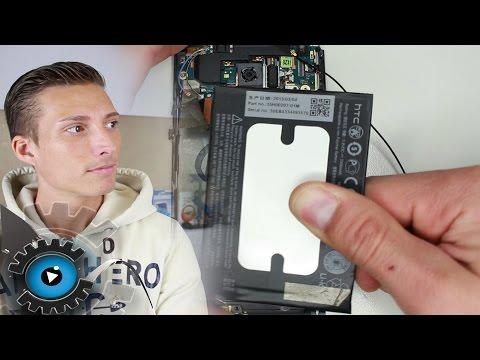 HTC ONE M7 Akku Wechseln Tauschen unter 30€ reparieren [Deutsch/German]