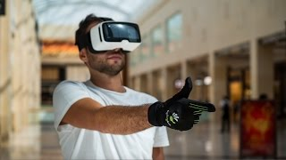 CaptoGlove Virtual Reality Wearable Gaming Controller Glove