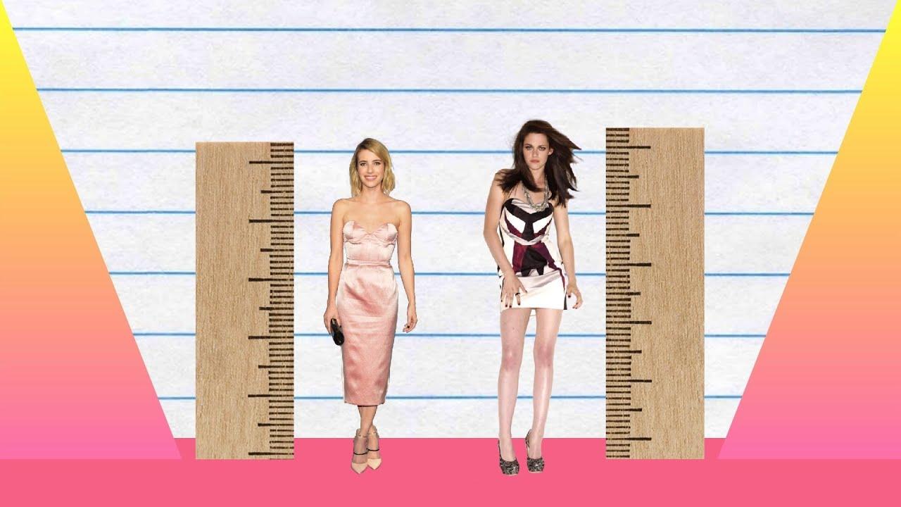 How Much Taller Emma Roberts Vs Kristen Stewart Youtube