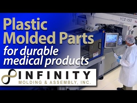 Medical Device injection molder for durable medical products - Infinity