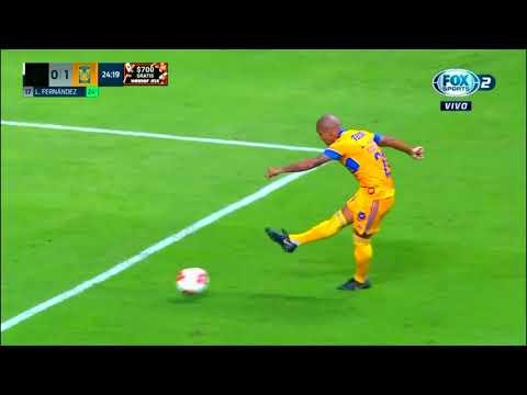 Monterrey 0 - [1] Tigres - Leonardo Fernandez 24'