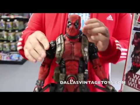 Marvel Classic Deadpool 18-inch 1//4 Scale Action Figure NECA