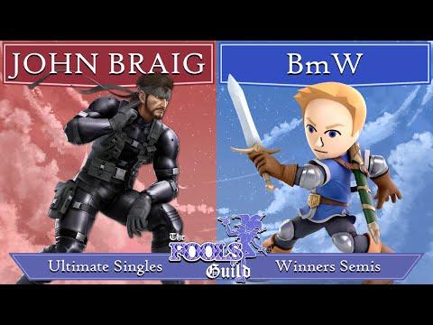 The Fools' Guild II Winners Semis - JOHN BRAIG (Snake, Mr. Game & Watch) vs BmW (Mii Swordfighter) |