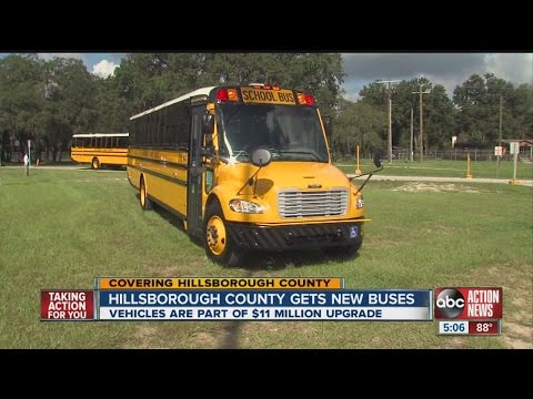 Hillsborough County gets new buses