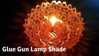 DIY | Glue Gun Lamp Shade | Christmas Special | Handmade Lamp Shade