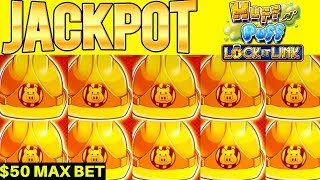 High Limit HUFF N PUFF Slot Machine Handpay Jackpot - $50 Max Bet Bonus  | Season 8 | Episode #19