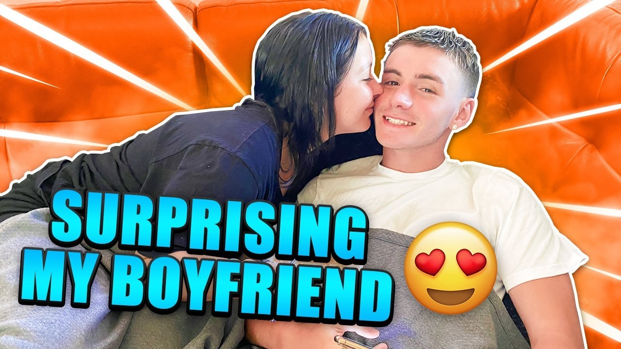 SURPRISING MY BF (HE CRIED)