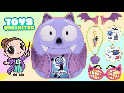 Unboxing Vampirina's Bootastic Backpack With Play Activities