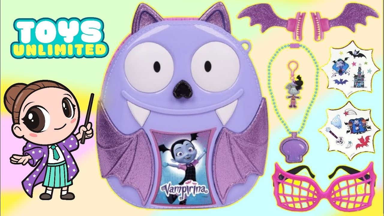 Download Unboxing Vampirina's Bootastic Backpack with Play Activities