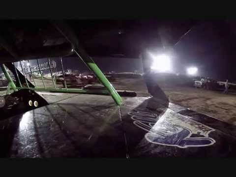 In car cam US 30 Speedway Tyler Iverson IMCA Modified
