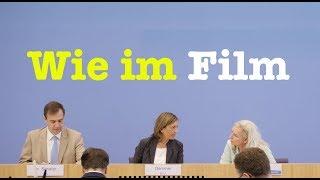 9. August 2017 - Sehenswerte Bundespressekonferenz