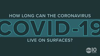 How long can the coronavirus (COVID-19) live on surfaces?