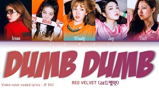"RED VELVET (레드벨벳) - ""Dumb Dumb"" [Color Coded Lyric…"