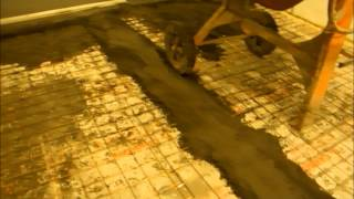 видео Наливные полы в холодильных камерах