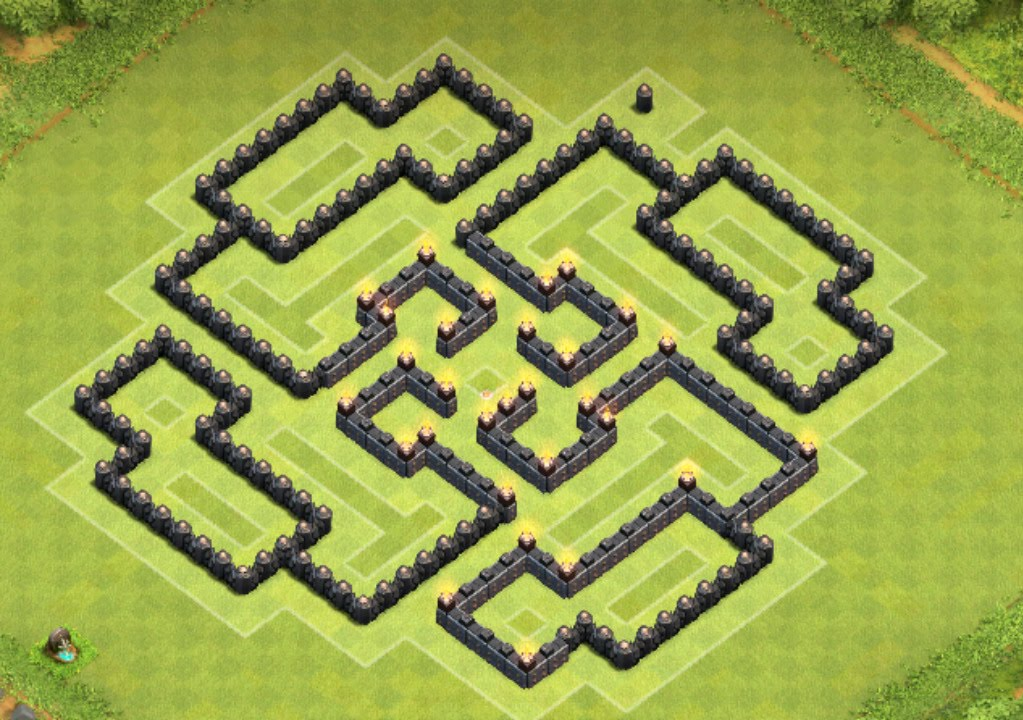 Base Coc Th 8 Labirin 5